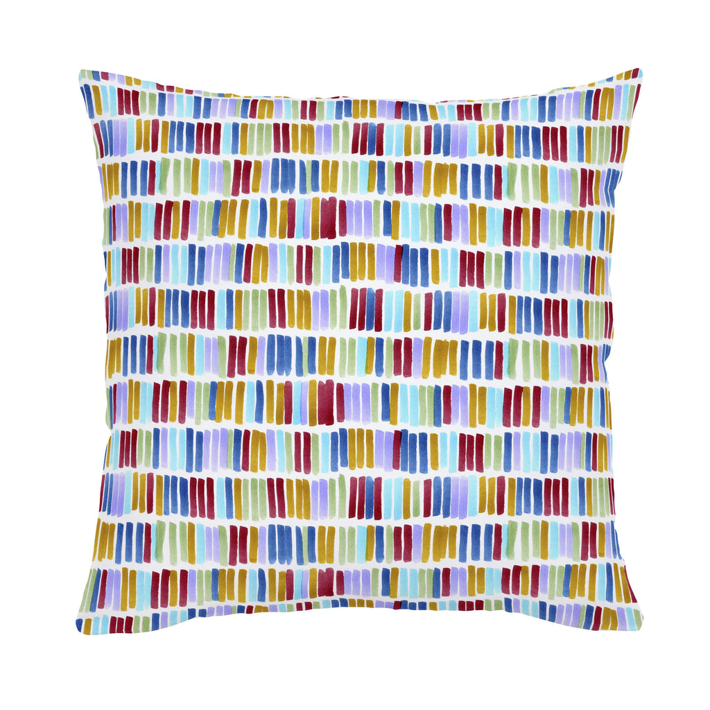Product image for Colorful Bars Throw Pillow