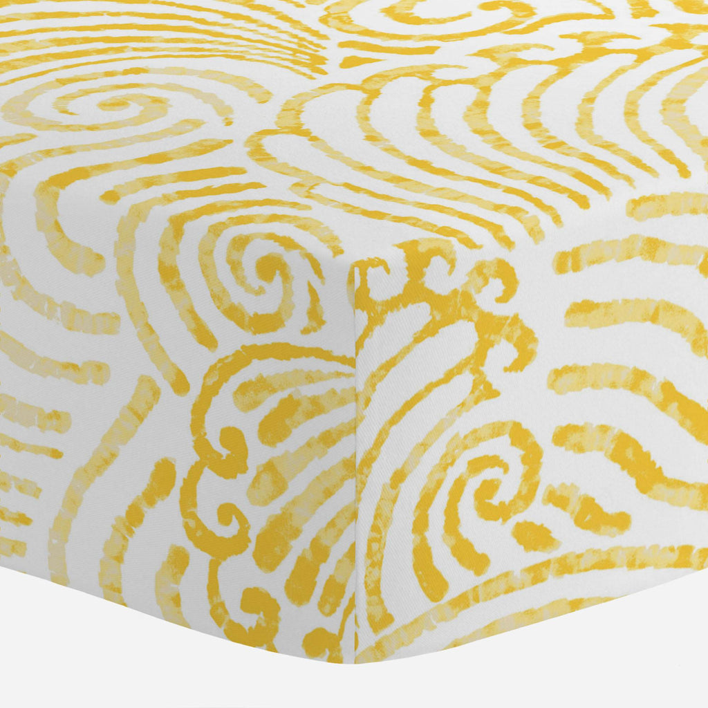Product image for Yellow Seas Crib Sheet