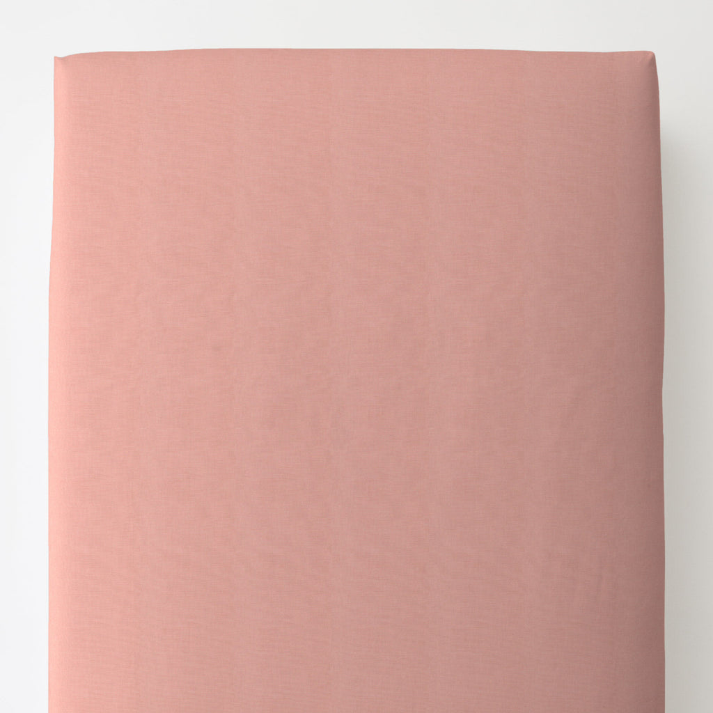 Product image for Solid Light Coral Toddler Sheet Bottom Fitted