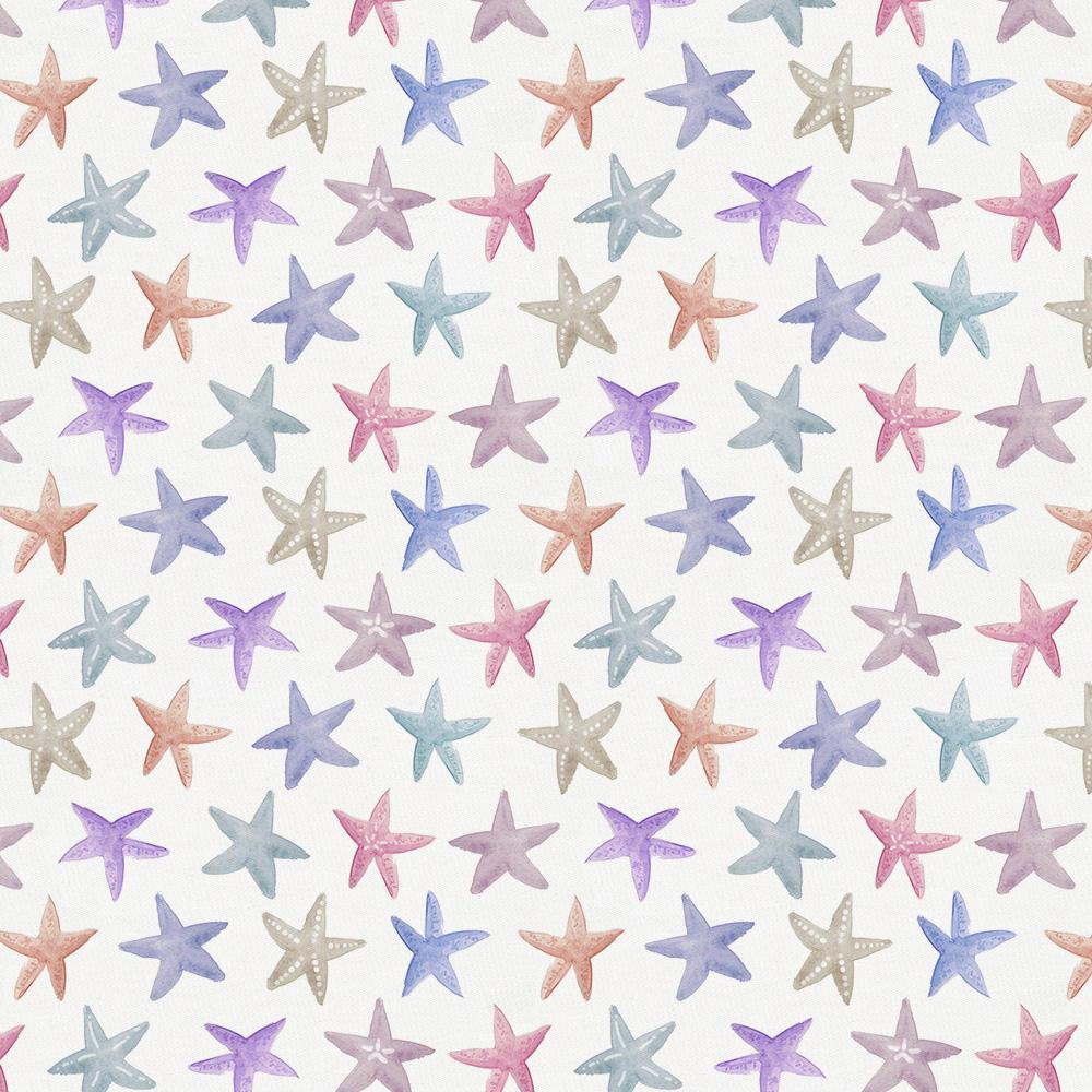 Product image for Watercolor Starfish Cradle Sheet