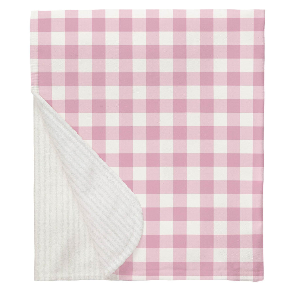Product image for Bubblegum Gingham Baby Blanket