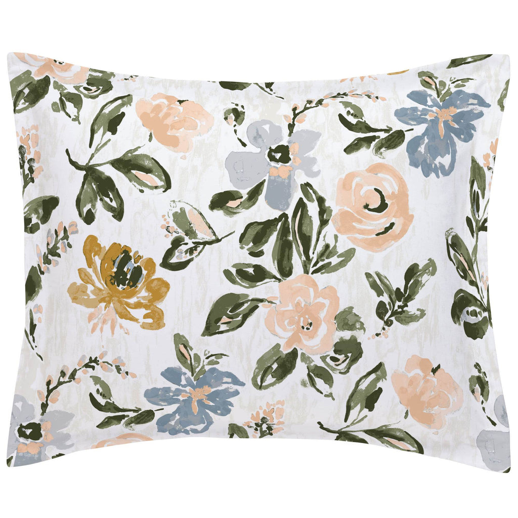 Product image for Blush Garden Pillow Sham