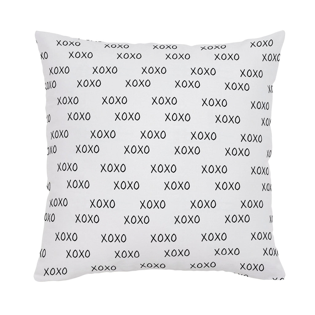 Product image for Onyx Hugs and Kisses Throw Pillow