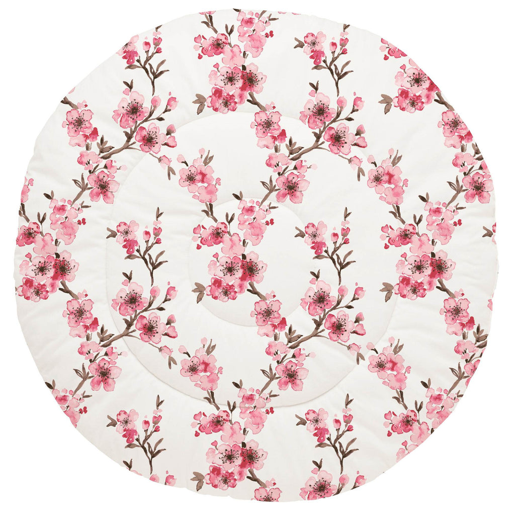 Product image for Pink Cherry Blossom Baby Play Mat