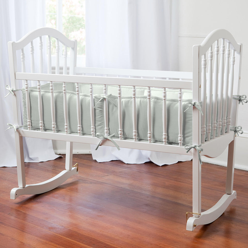Product image for Solid Silver Gray Cradle Bumper