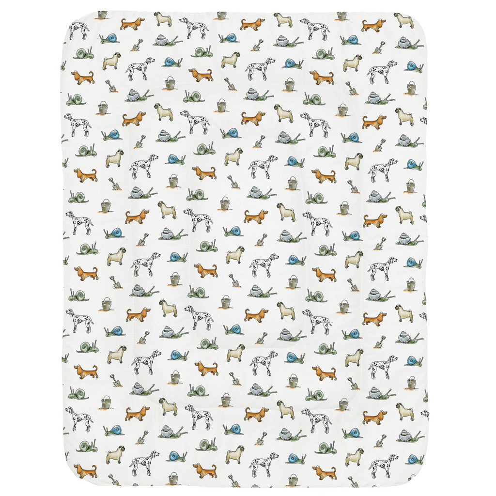 Product image for Snails and Tails Crib Comforter