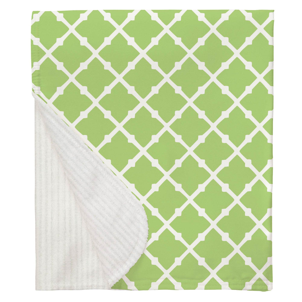 Product image for Kiwi Lattice Baby Blanket