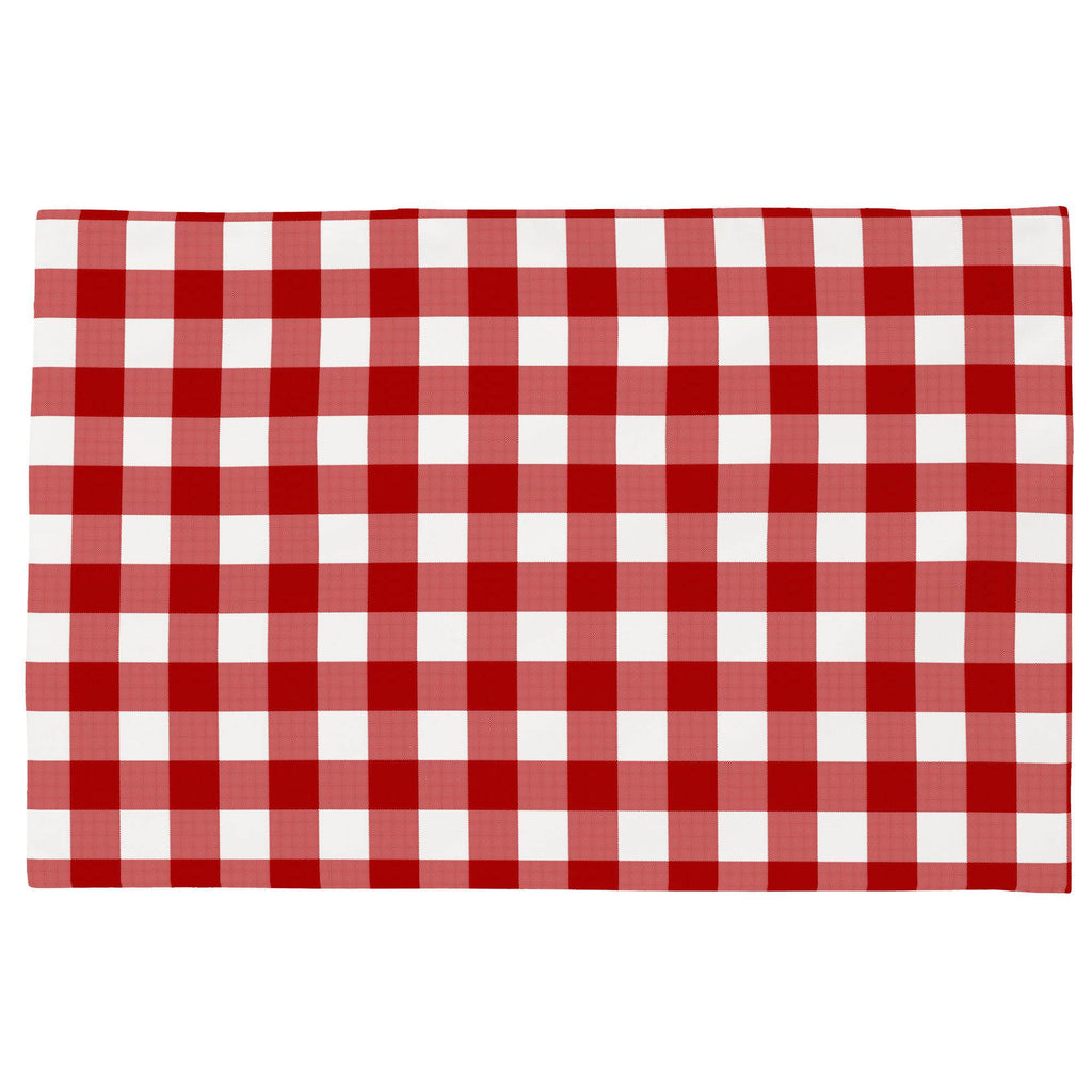 Product image for Red Gingham Toddler Pillow Case