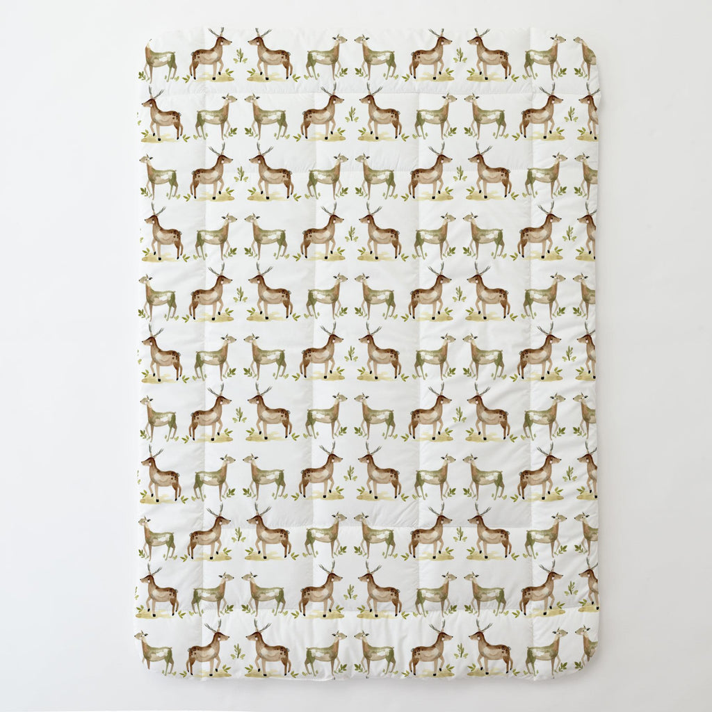 Product image for Painted Deer Toddler Comforter