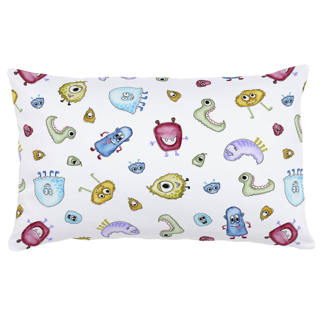 Product image for Watercolor Monsters Lumbar Pillow
