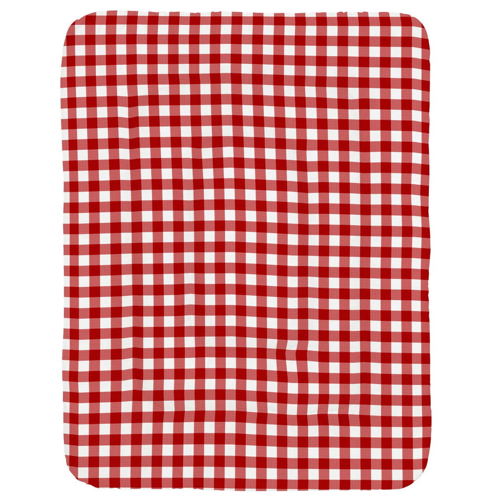 Product image for Red Gingham Crib Comforter