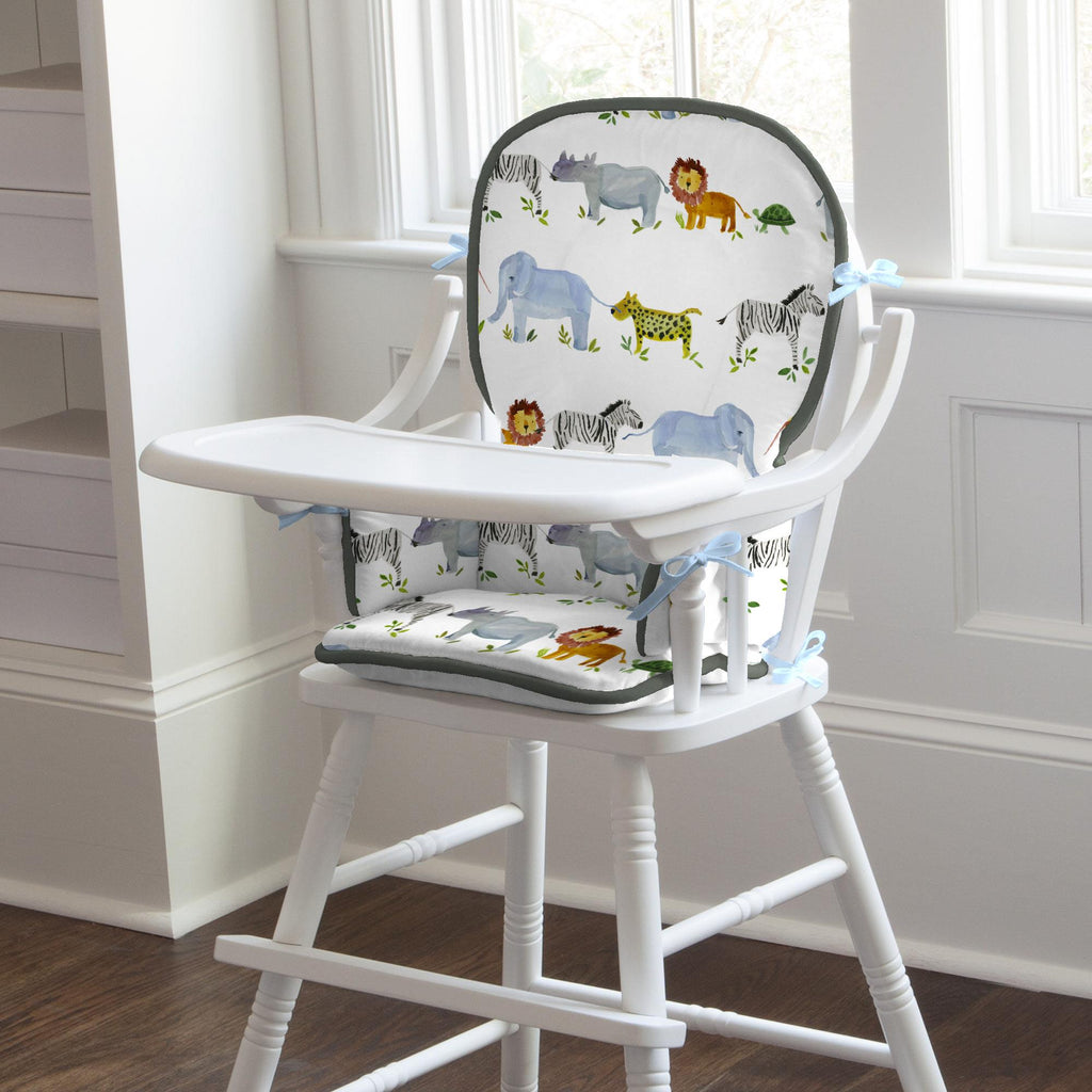 Product image for Painted Zoo High Chair Pad