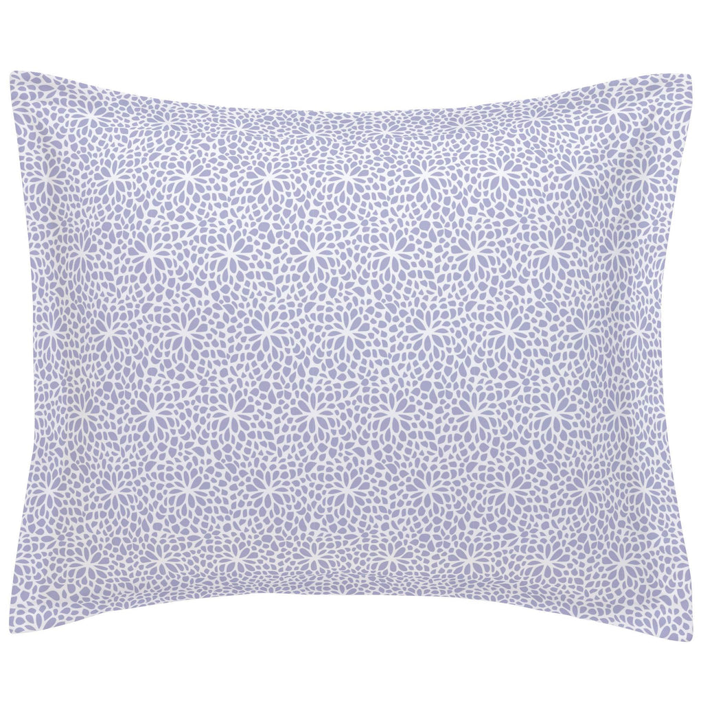 Product image for Lavender Modern Mums Pillow Sham