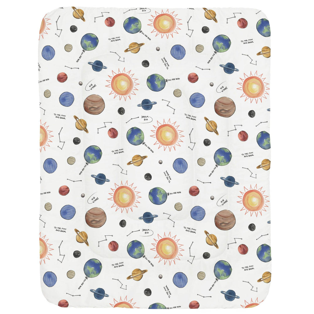 Product image for Solar System Crib Comforter