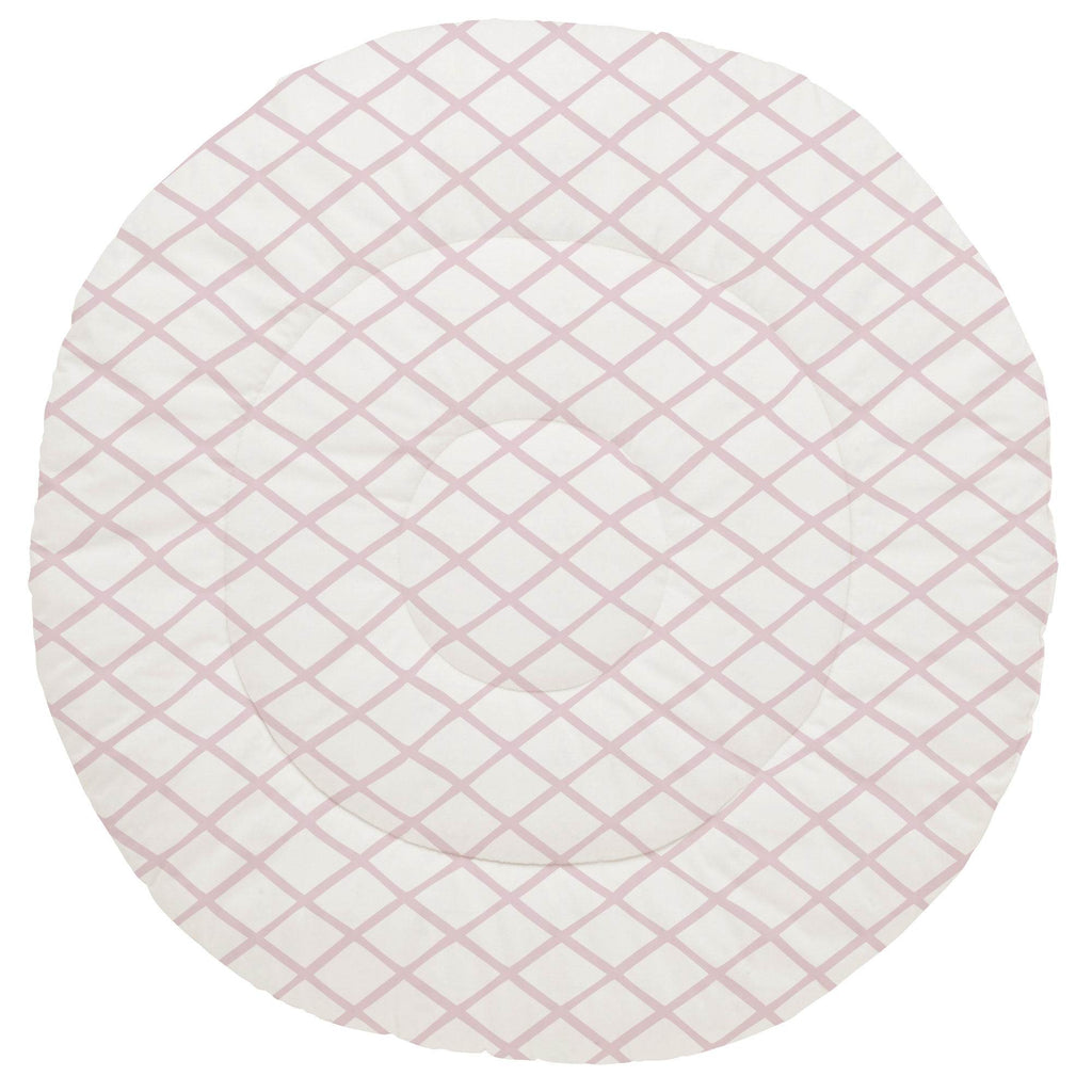 Product image for Pink Trellis Baby Play Mat