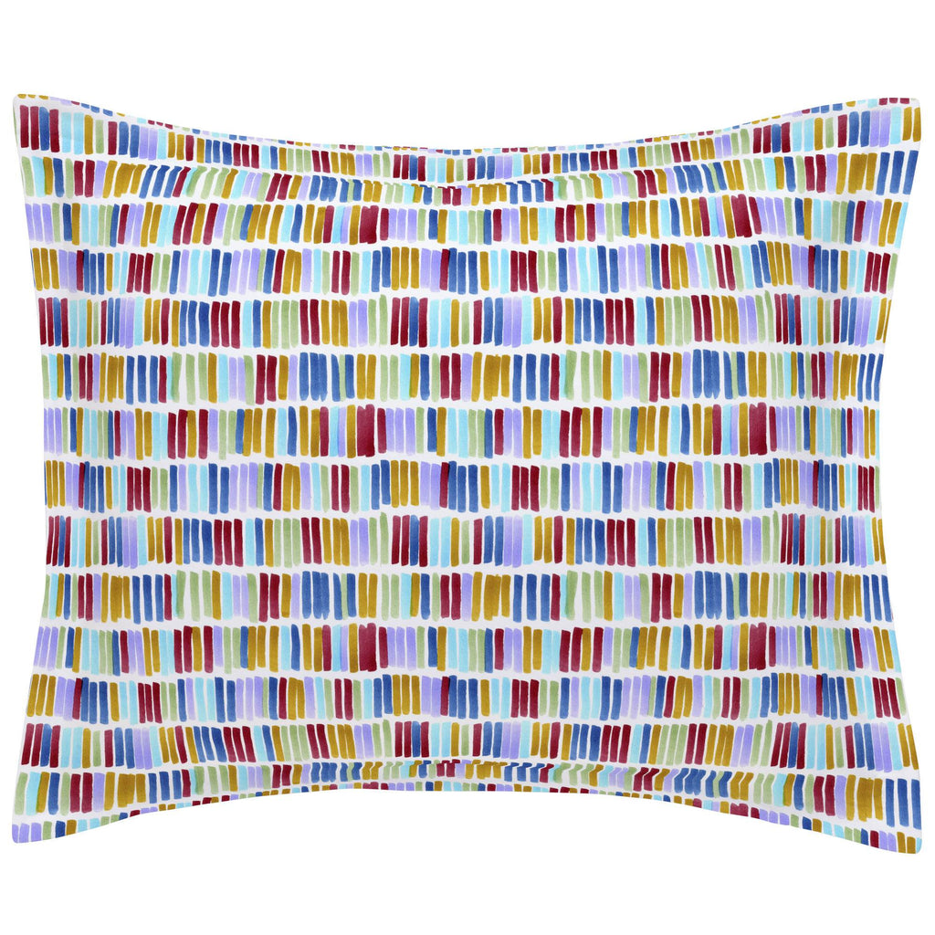 Product image for Colorful Bars Pillow Sham
