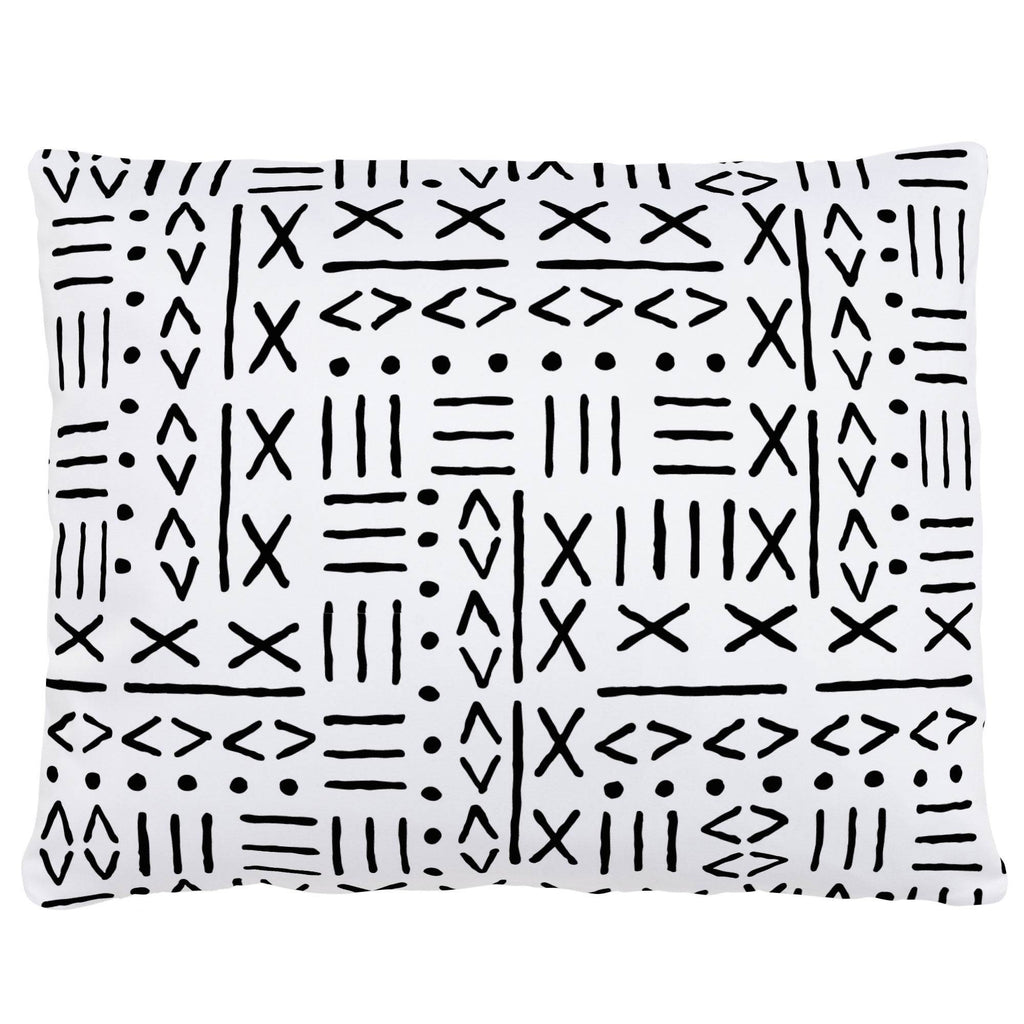 Product image for Onyx Mudcloth Accent Pillow