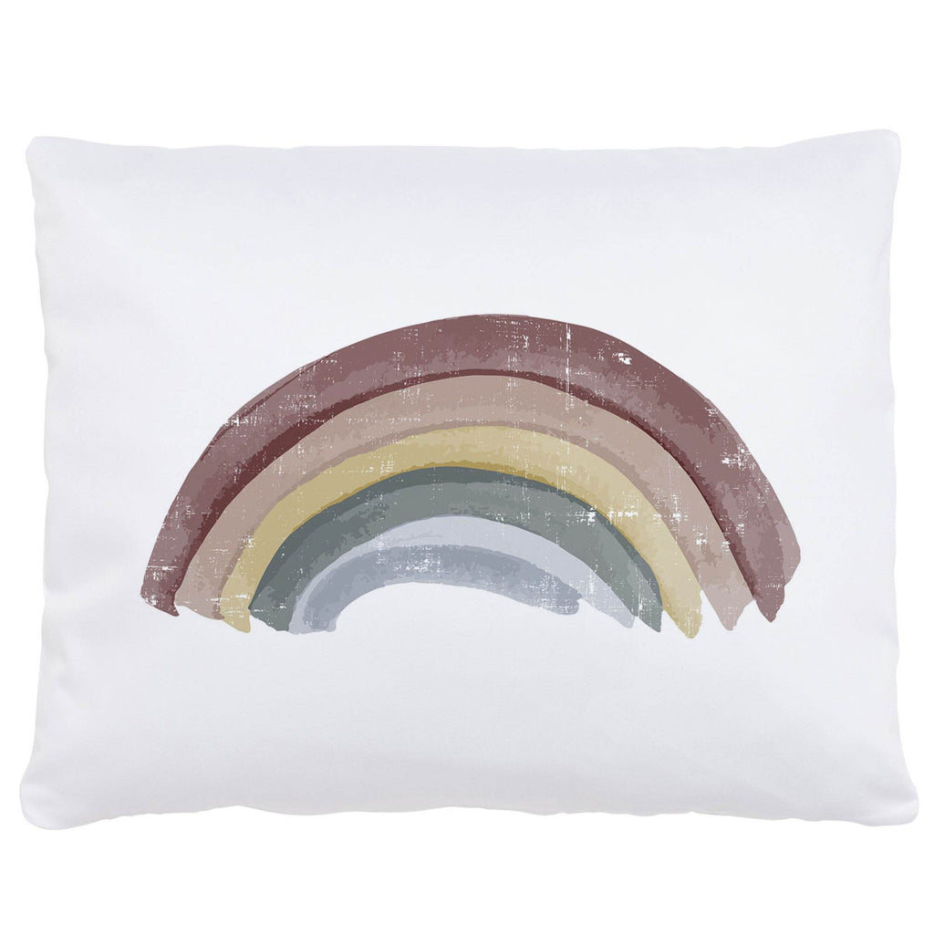 Product image for Soft Rainbow Centerpiece Accent Pillow