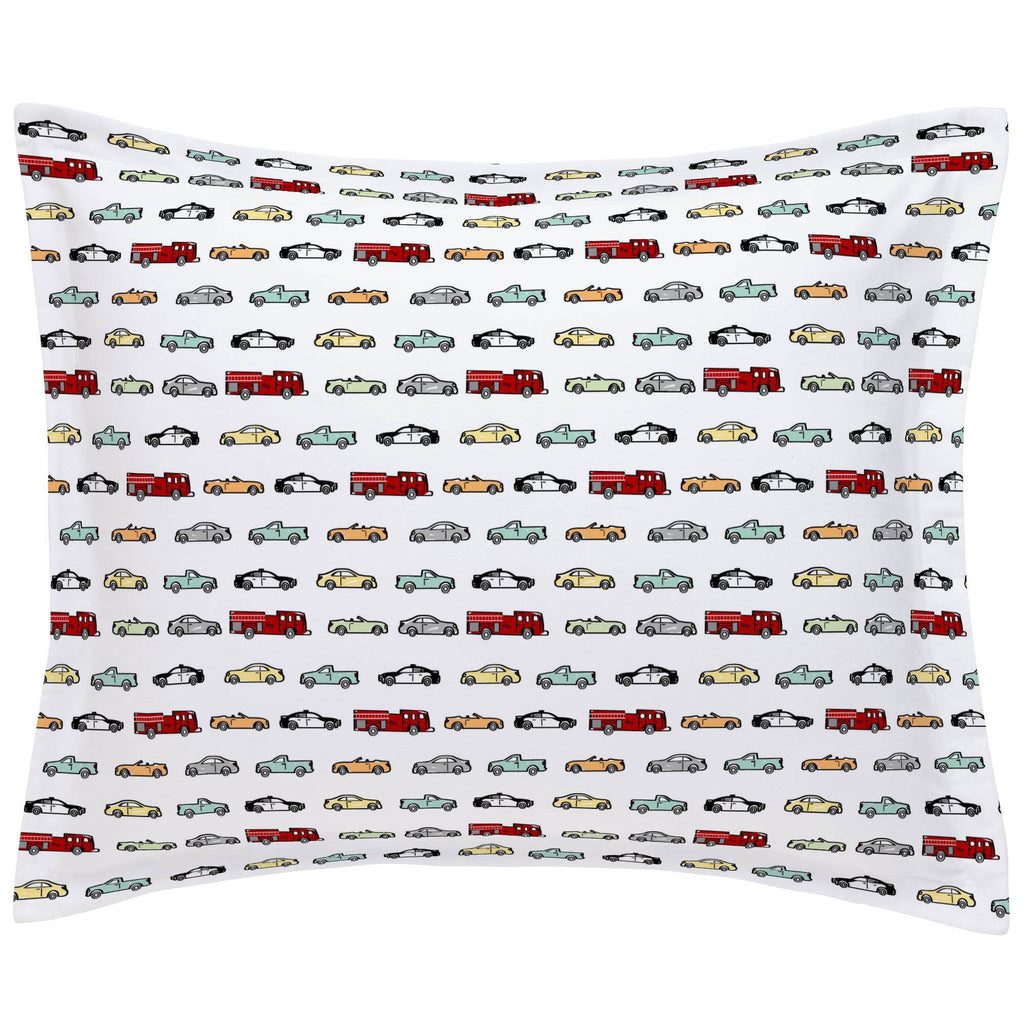 Product image for Modern Cars Pillow Sham