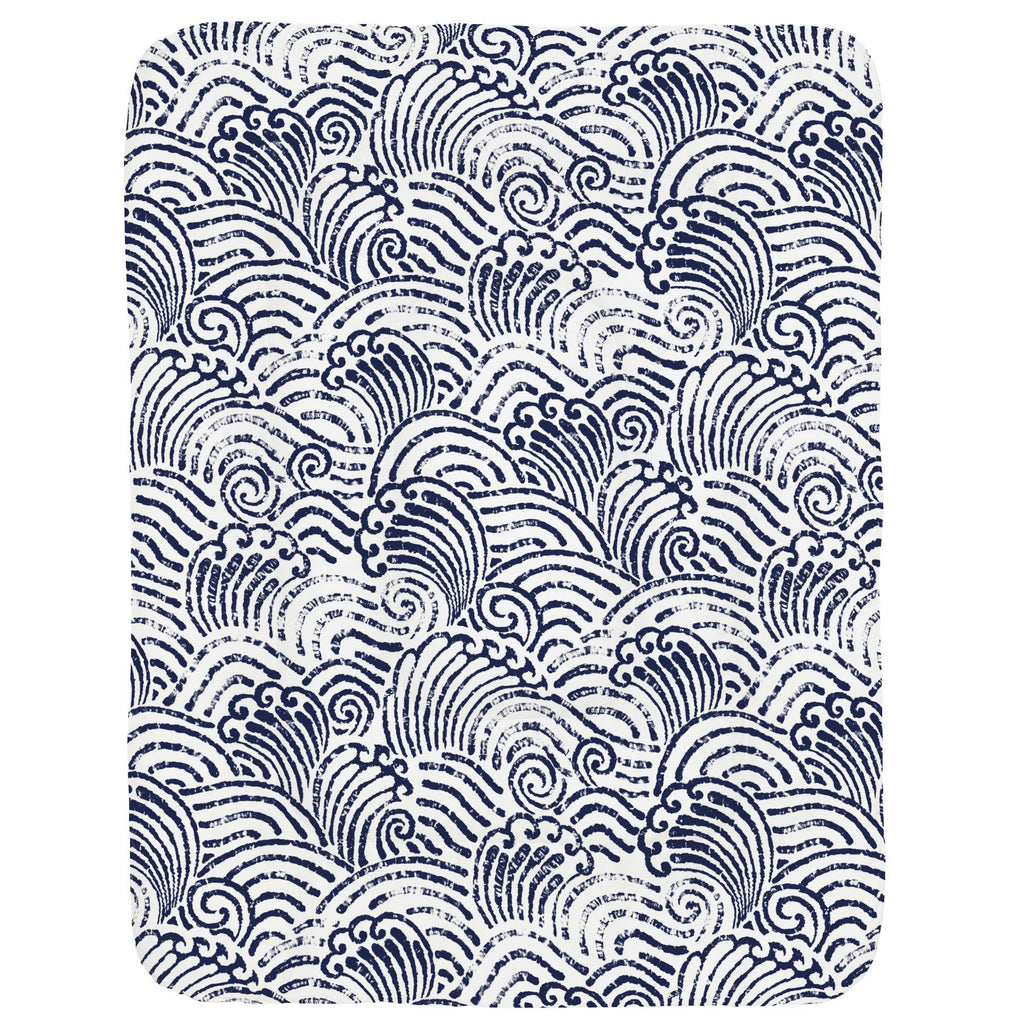 Product image for Navy Seas Crib Comforter