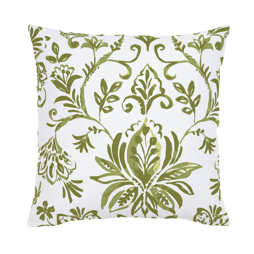 Product image for Sage Coastal Damask Throw Pillow