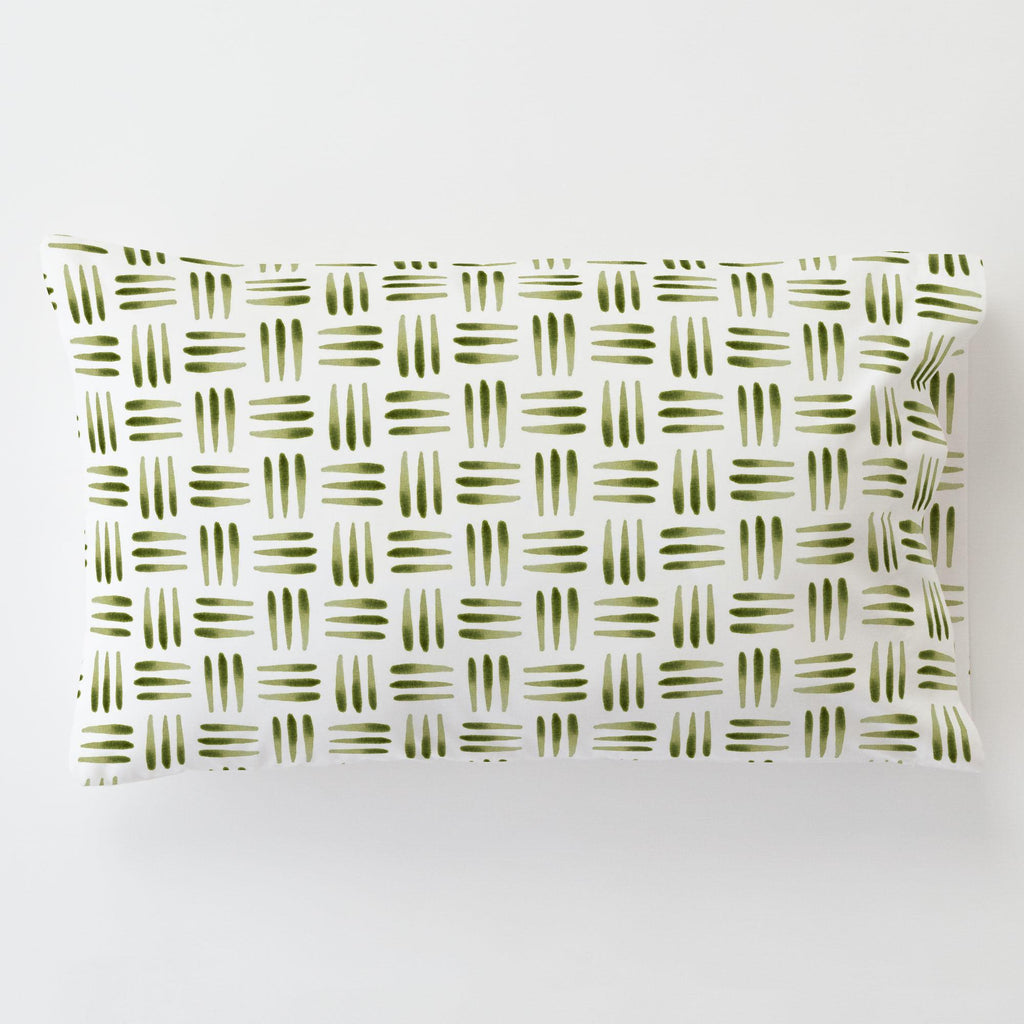 Product image for Sage Basket Toddler Pillow Case with Pillow Insert
