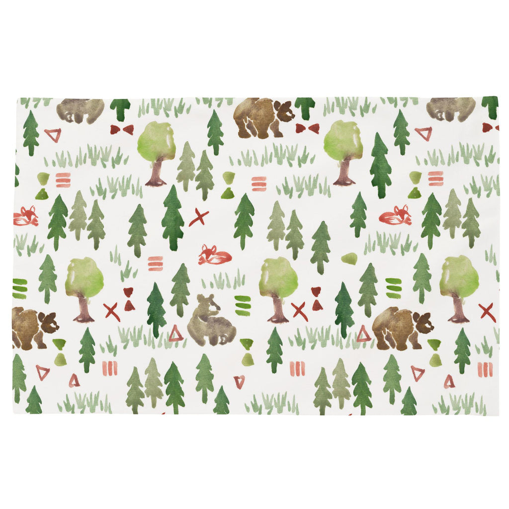 Product image for Watercolor Forest Toddler Pillow Case