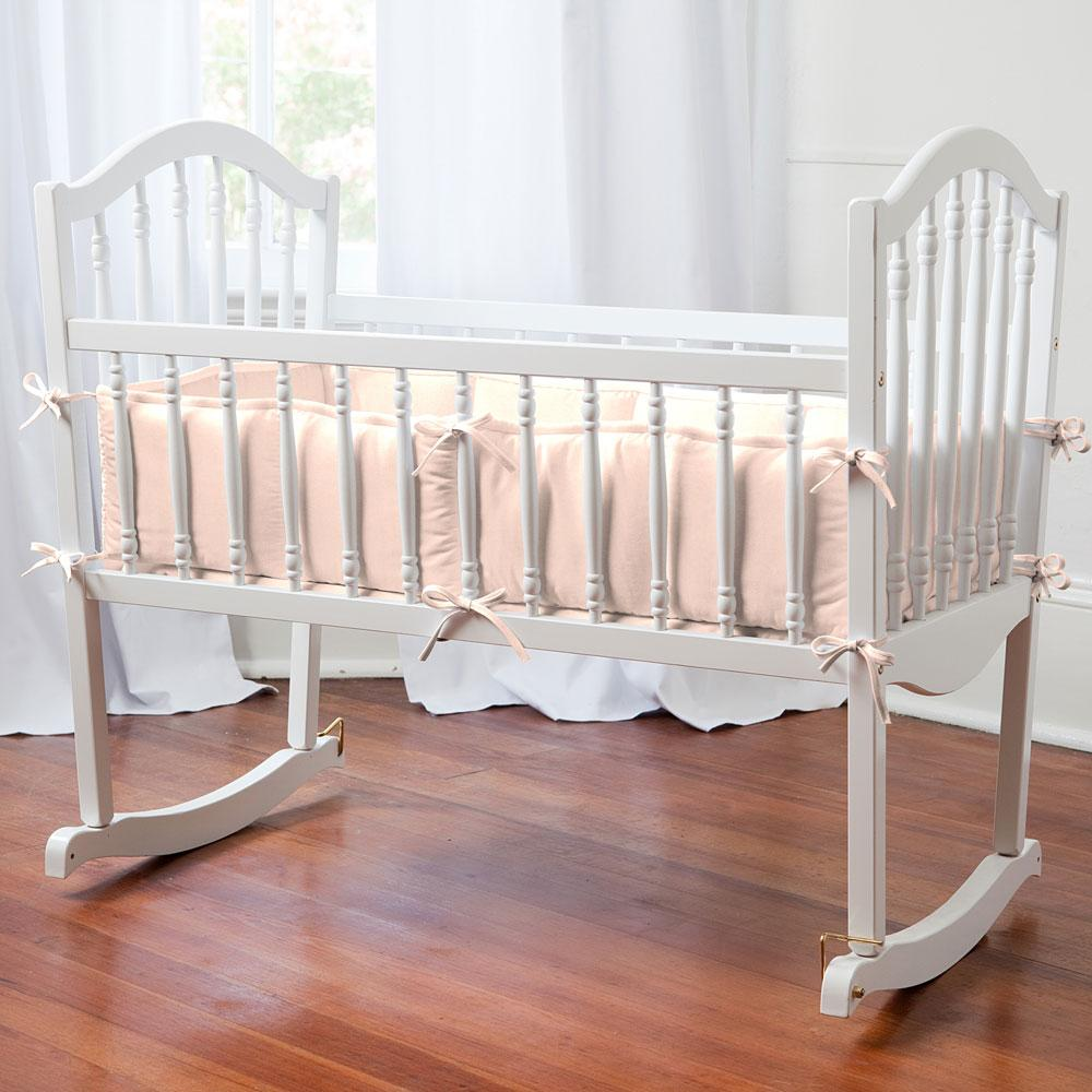Product image for Solid Peach Cradle Bumper