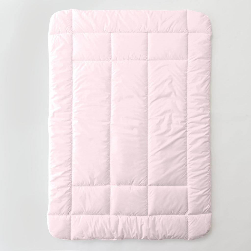 Product image for Solid Pink Toddler Comforter