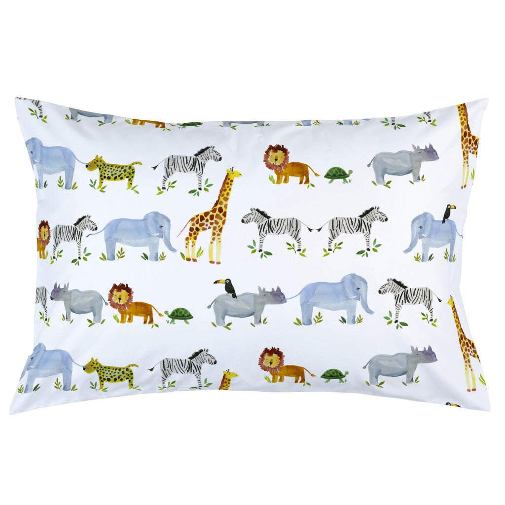 Product image for Painted Zoo Pillow Case