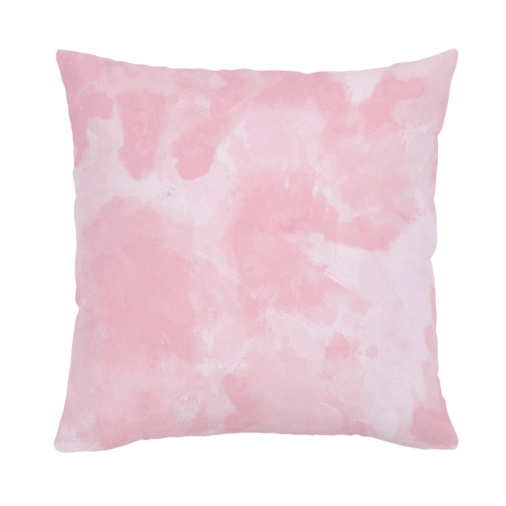 Product image for Pink Watercolor Throw Pillow