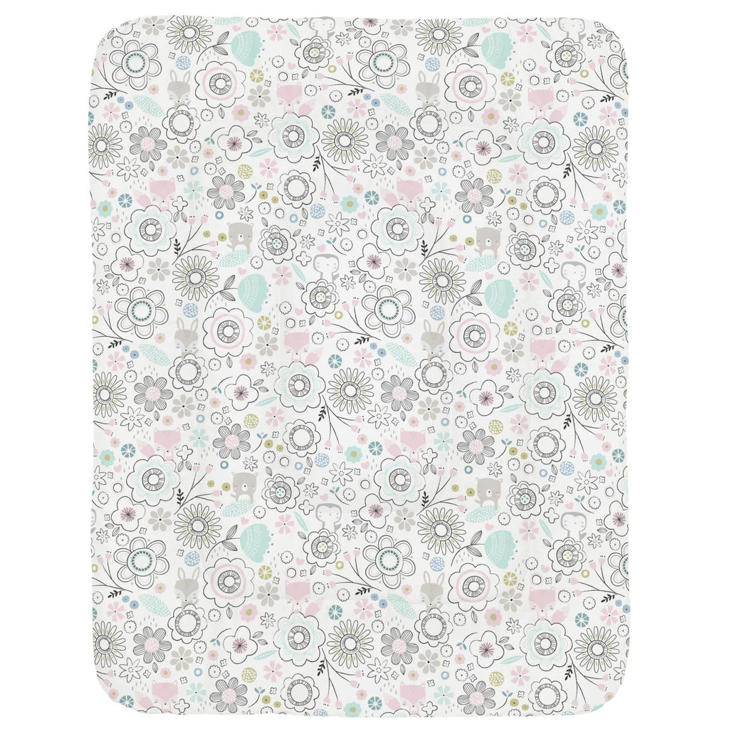 Product image for Pink Spring Doodles Crib Comforter