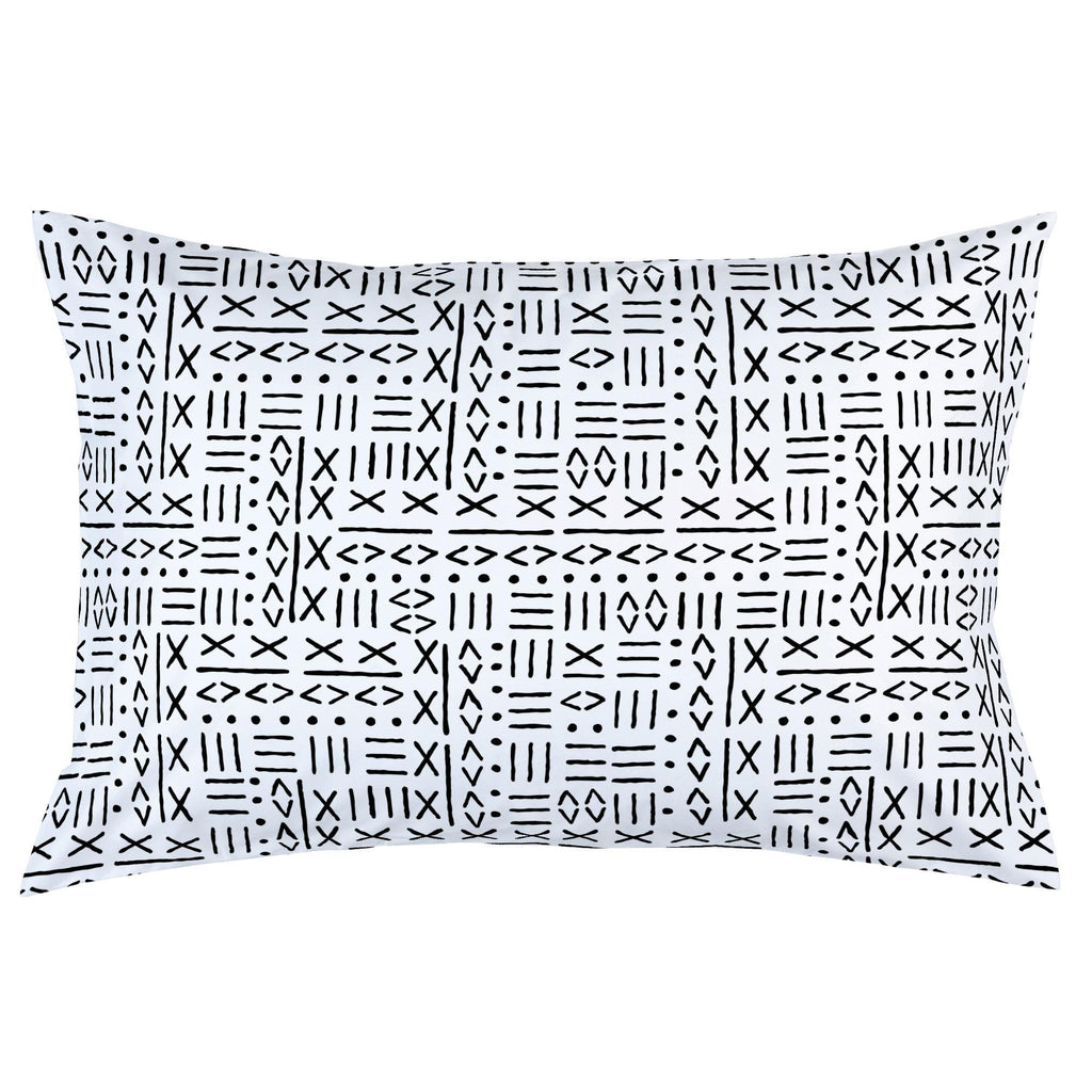 Product image for Onyx Mudcloth Pillow Case