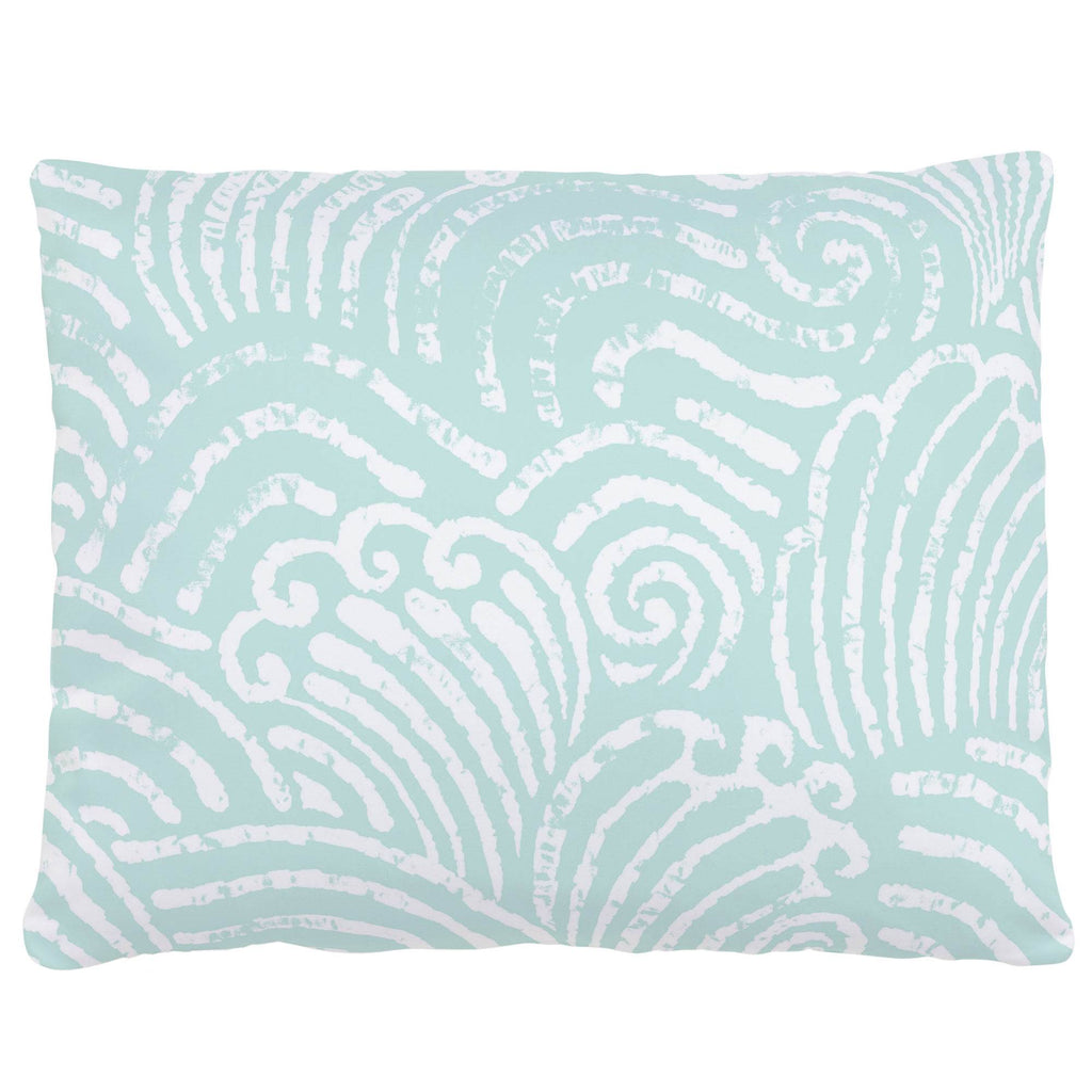 Product image for Icy Mint Seas Accent Pillow