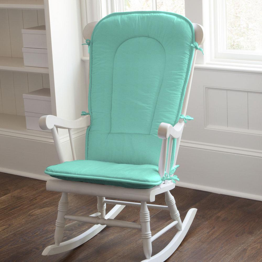 Product image for Solid Teal Rocking Chair Pad