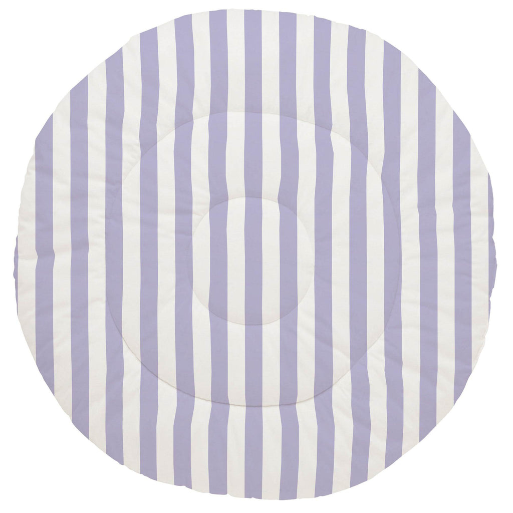 Product image for Lilac Stripe Baby Play Mat