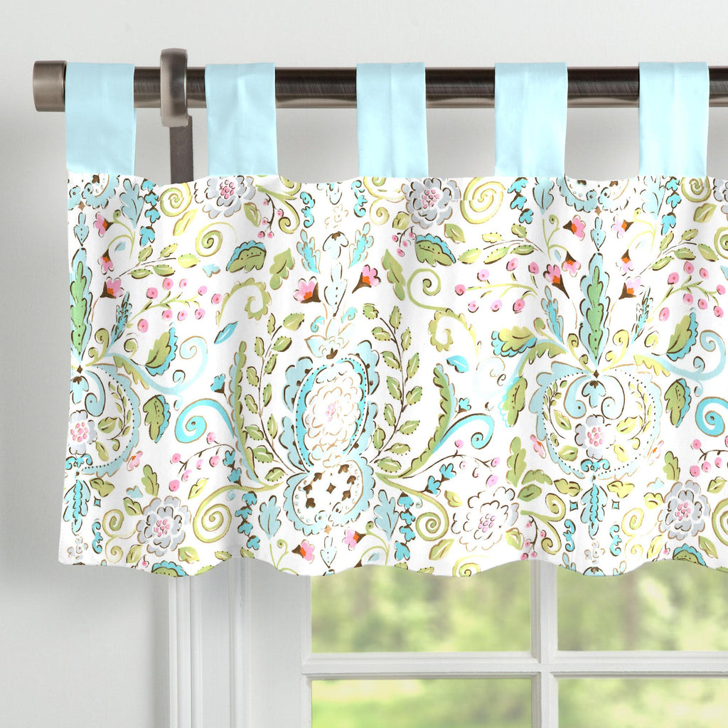 Product image for Bebe Jardin Window Valance Tab-Top