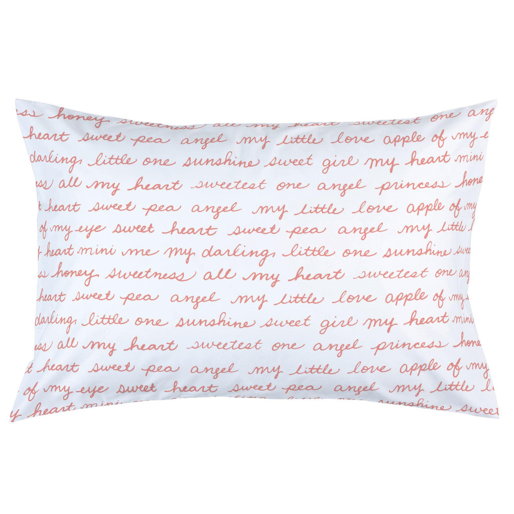 Product image for Light Coral Sweet Girl Pillow Case