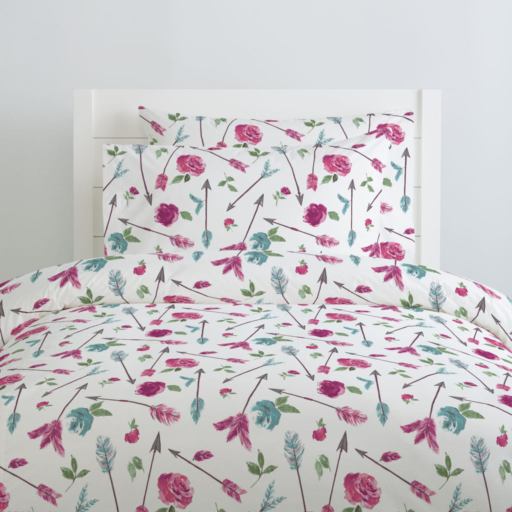 Product image for Floral Arrow Duvet Cover