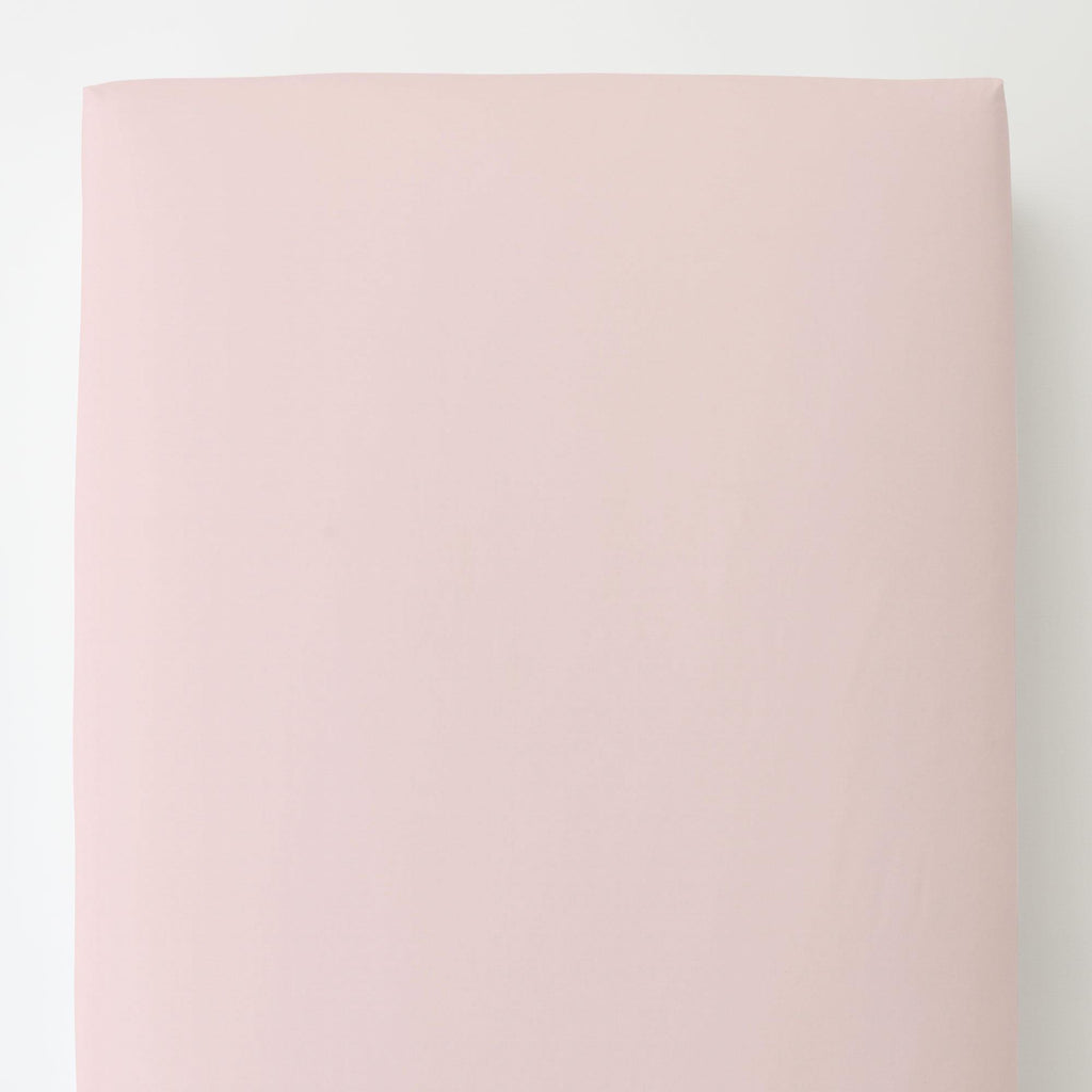 Product image for Solid Pink Toddler Sheet Bottom Fitted