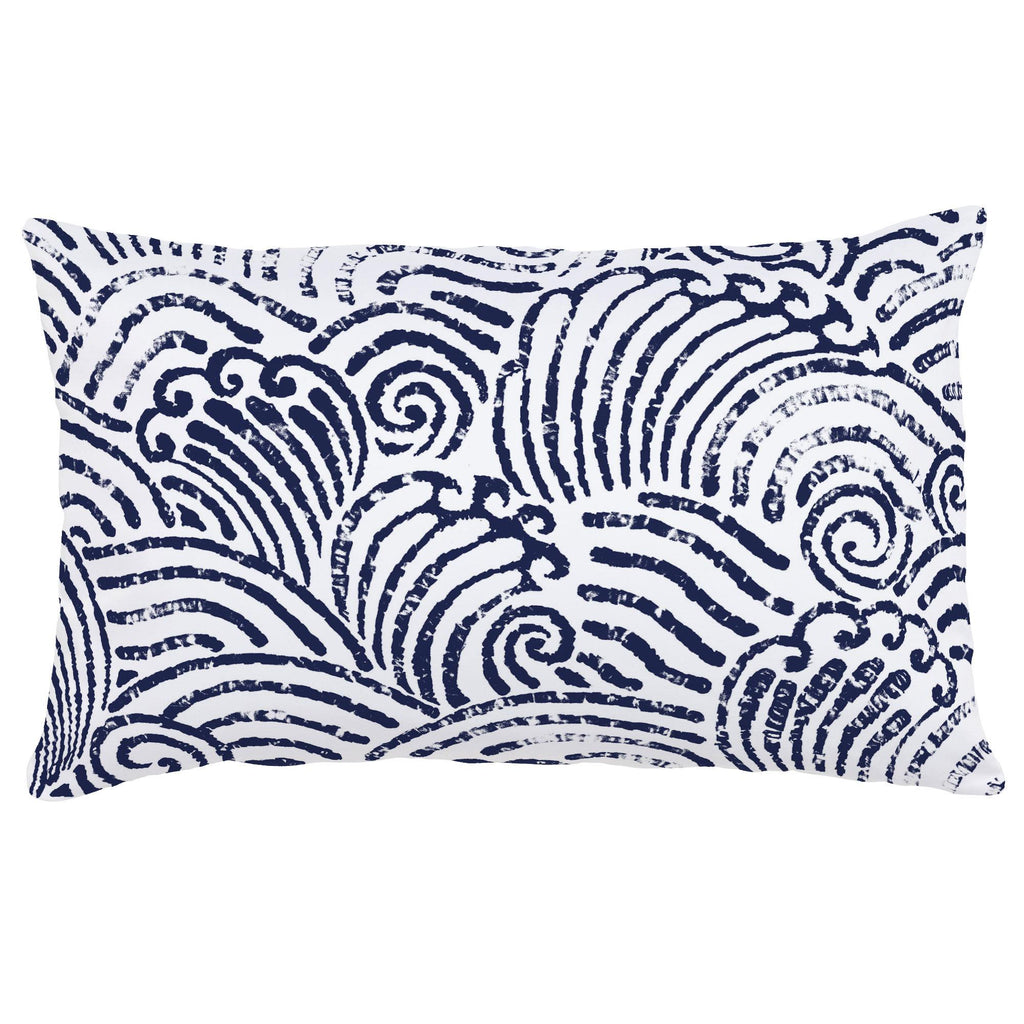 Product image for Navy Seas Lumbar Pillow