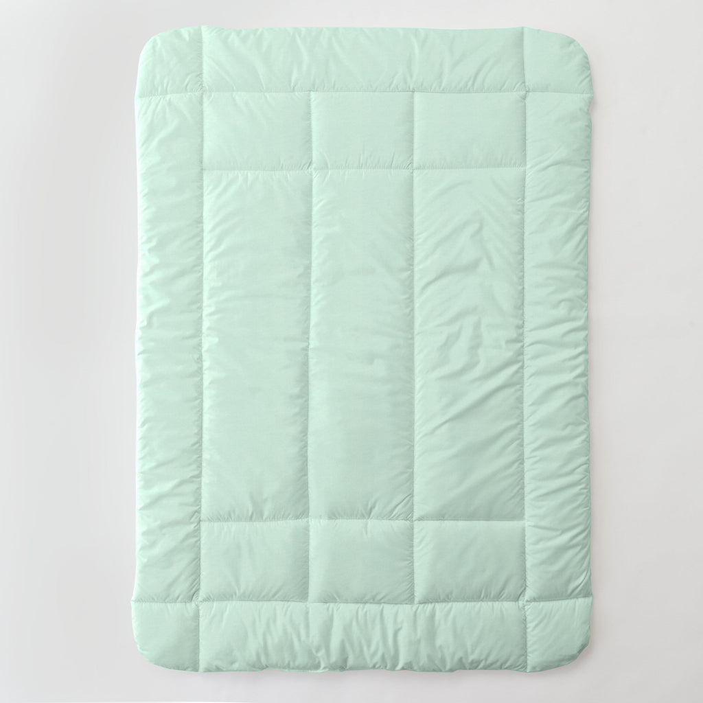 Product image for Solid Icy Mint Toddler Comforter