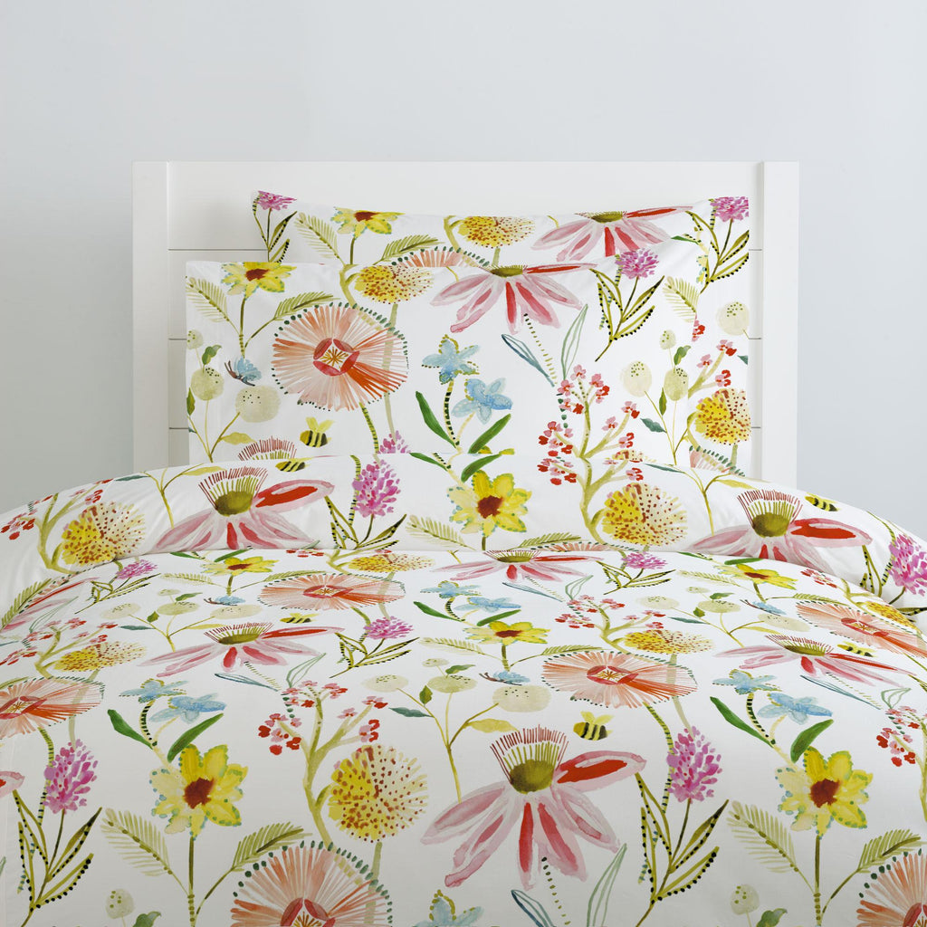 Product image for Watercolor Springtime Duvet Cover