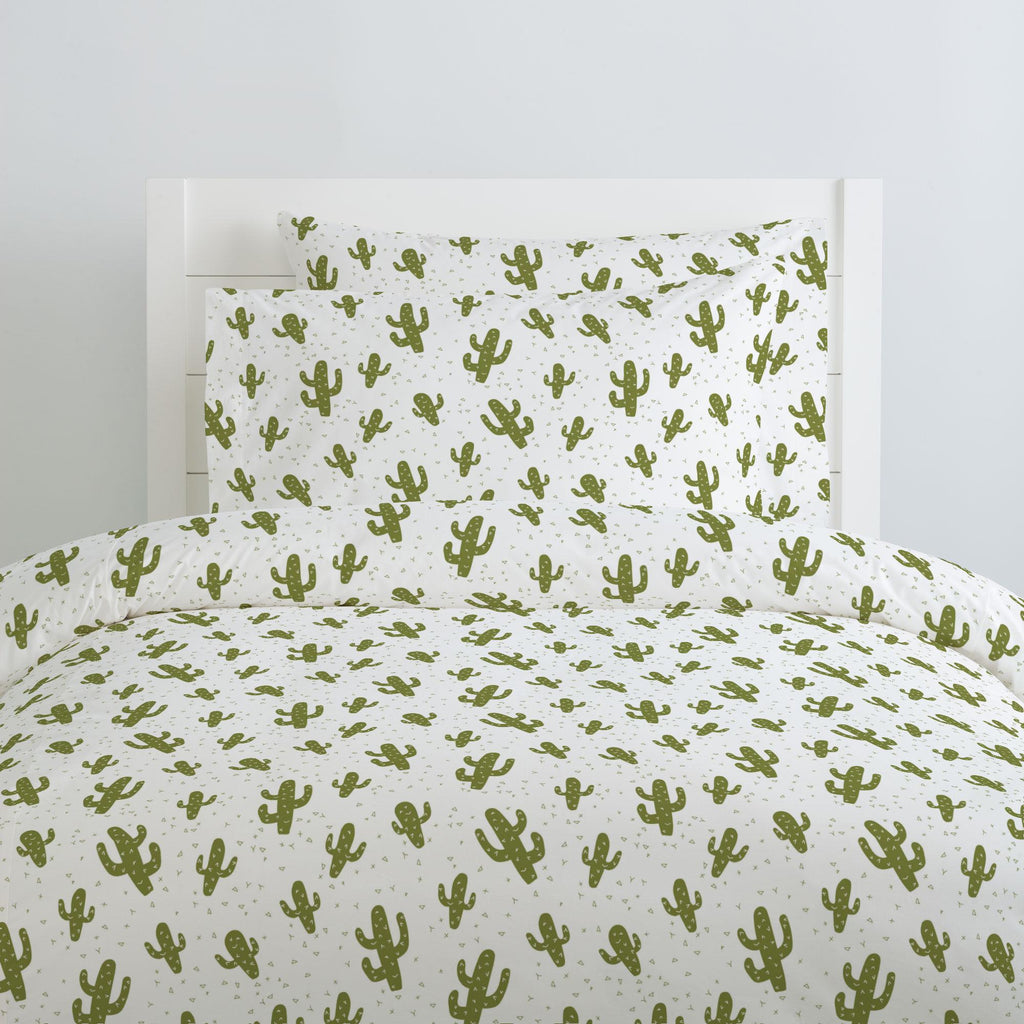 Product image for Sage Cactus Duvet Cover