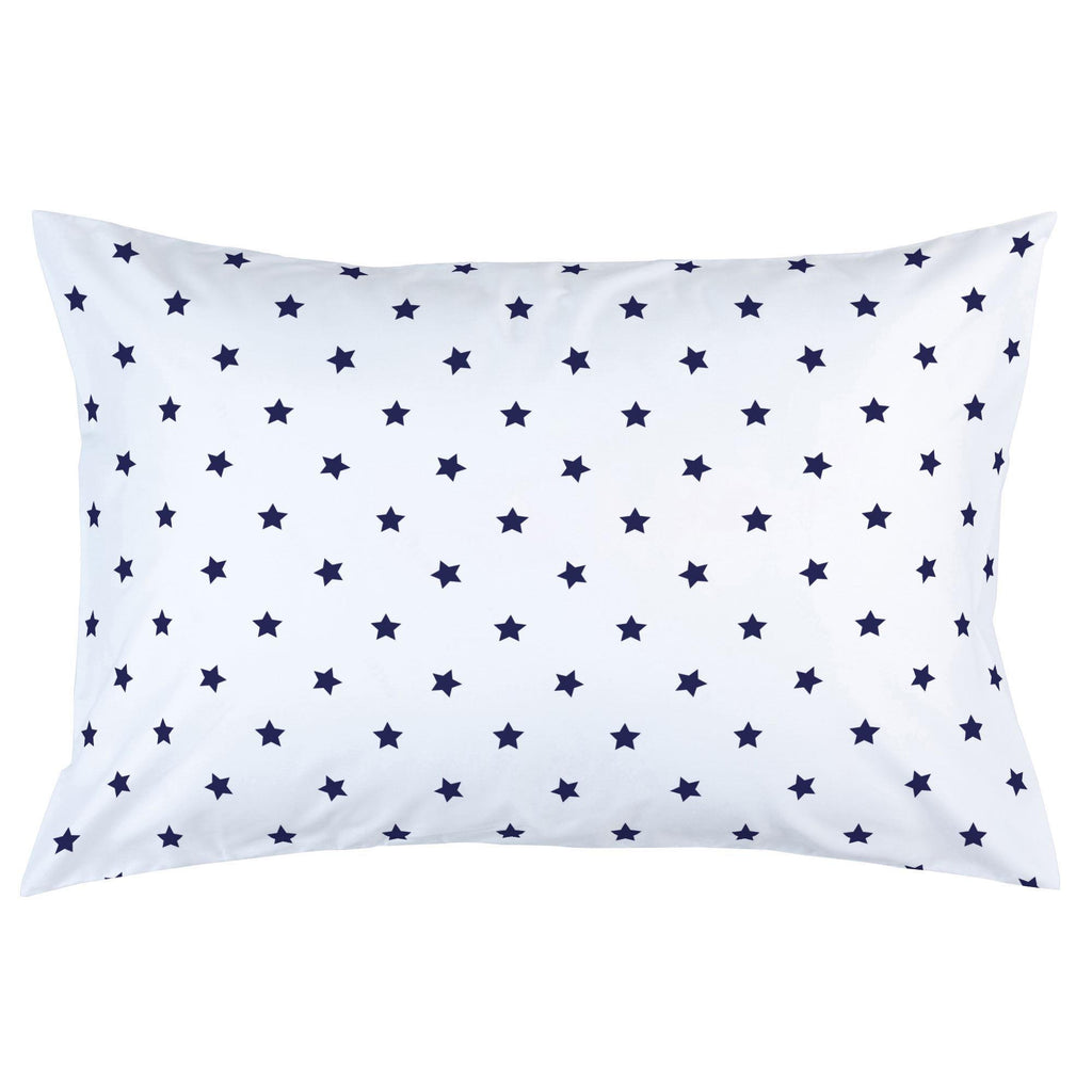 Product image for Navy Stars Pillow Case
