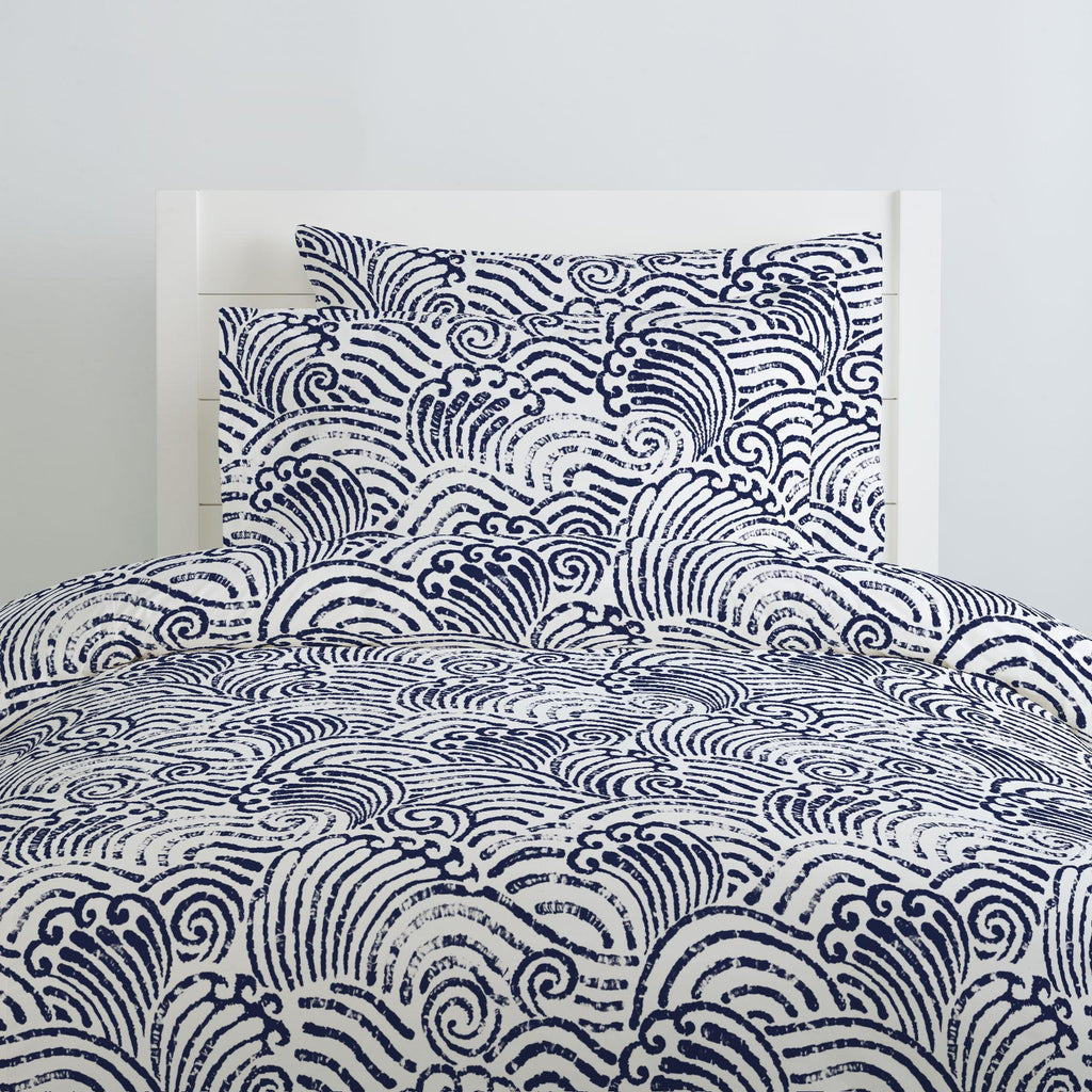Product image for Navy Seas Duvet Cover