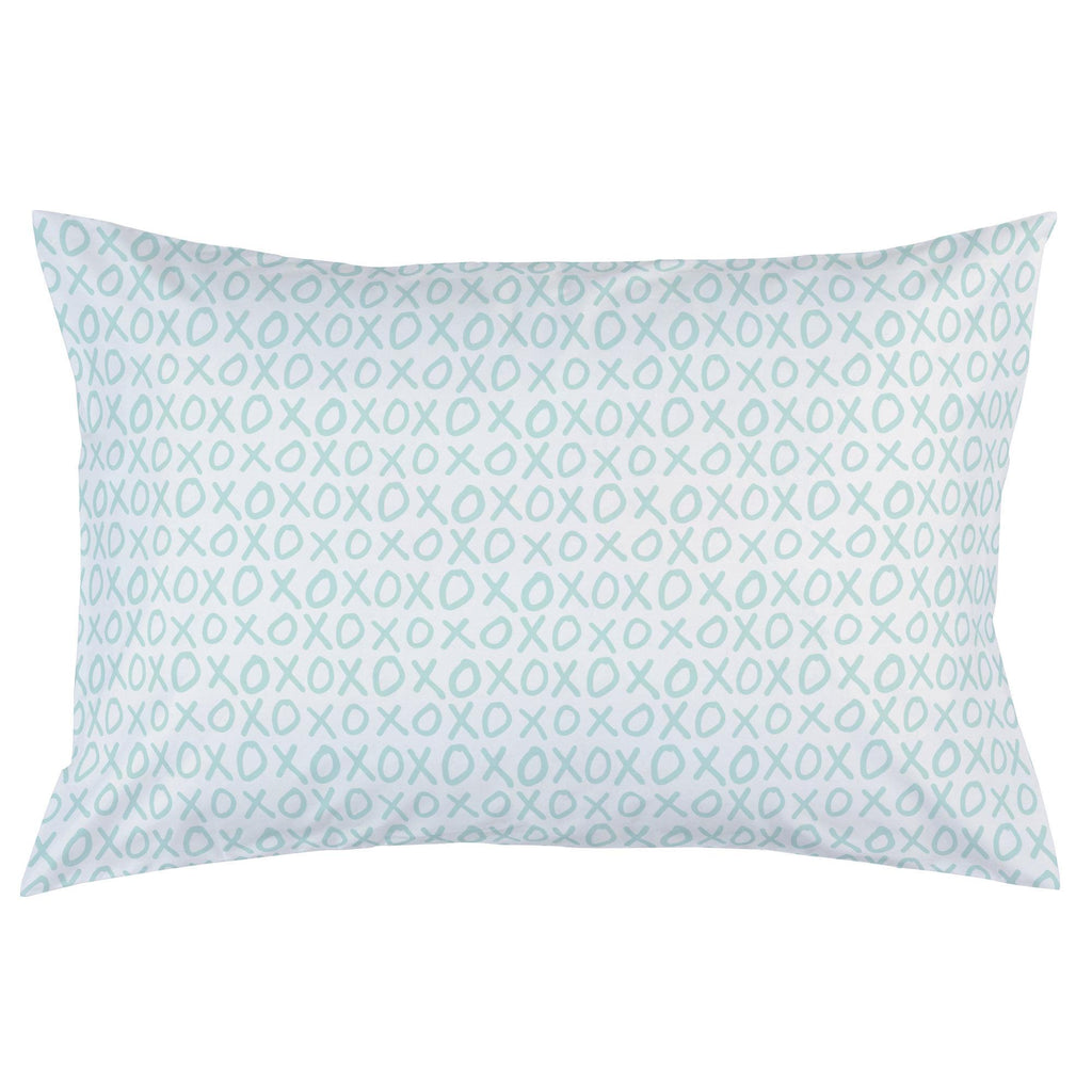Product image for Icy Mint XO Pillow Case