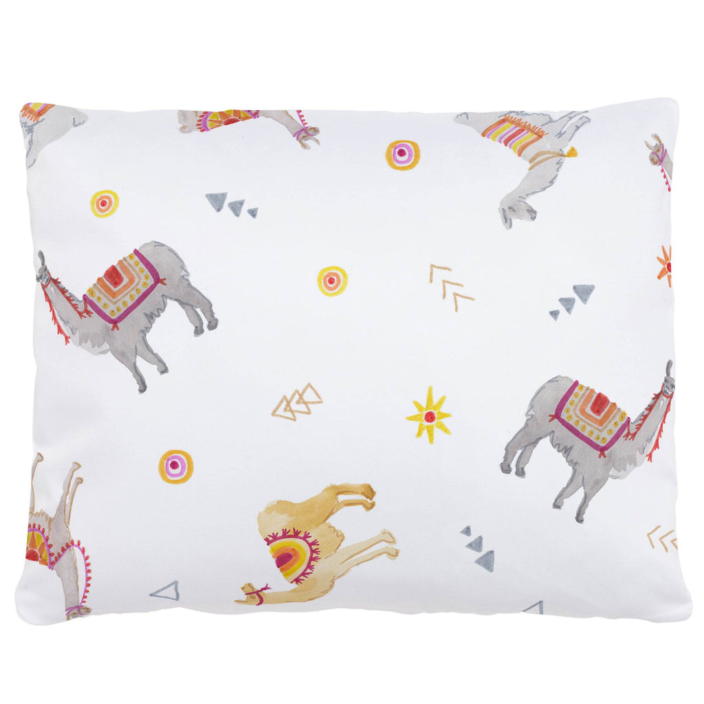 Product image for Festive Llamas Accent Pillow