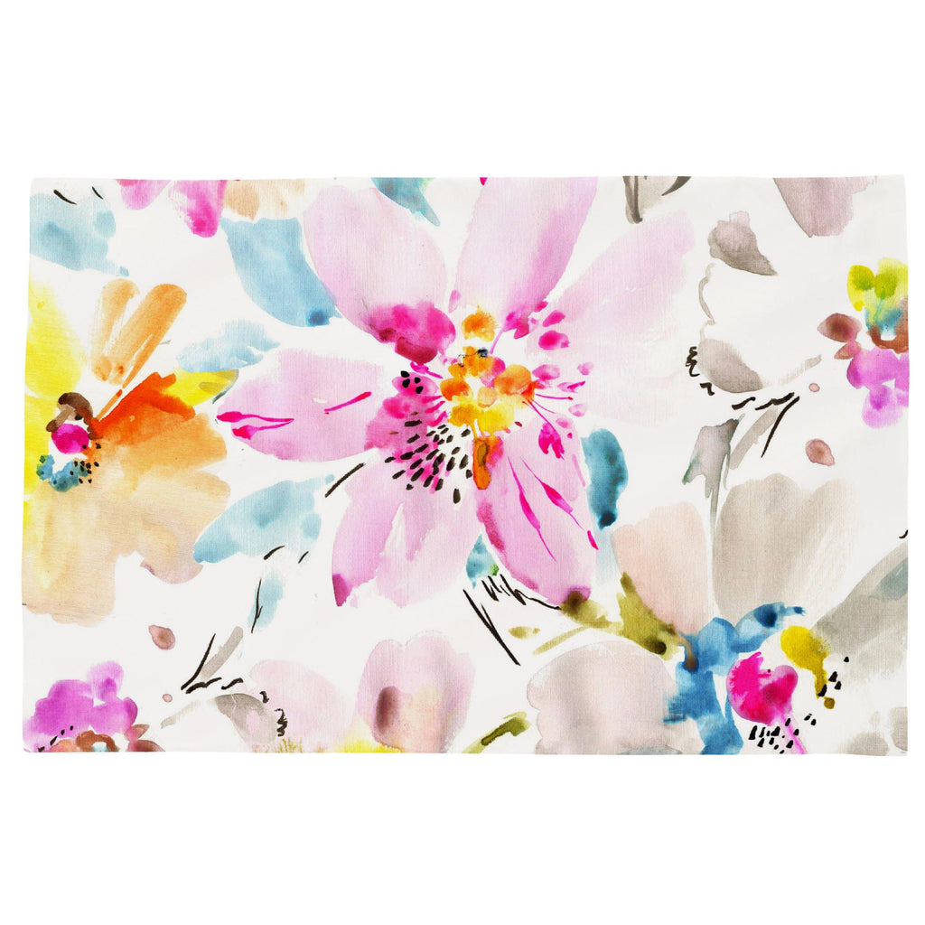 Product image for Watercolor Floral Toddler Pillow Case