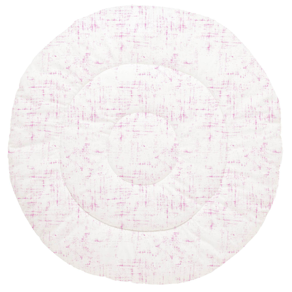Product image for Hot Pink Distressed Baby Play Mat